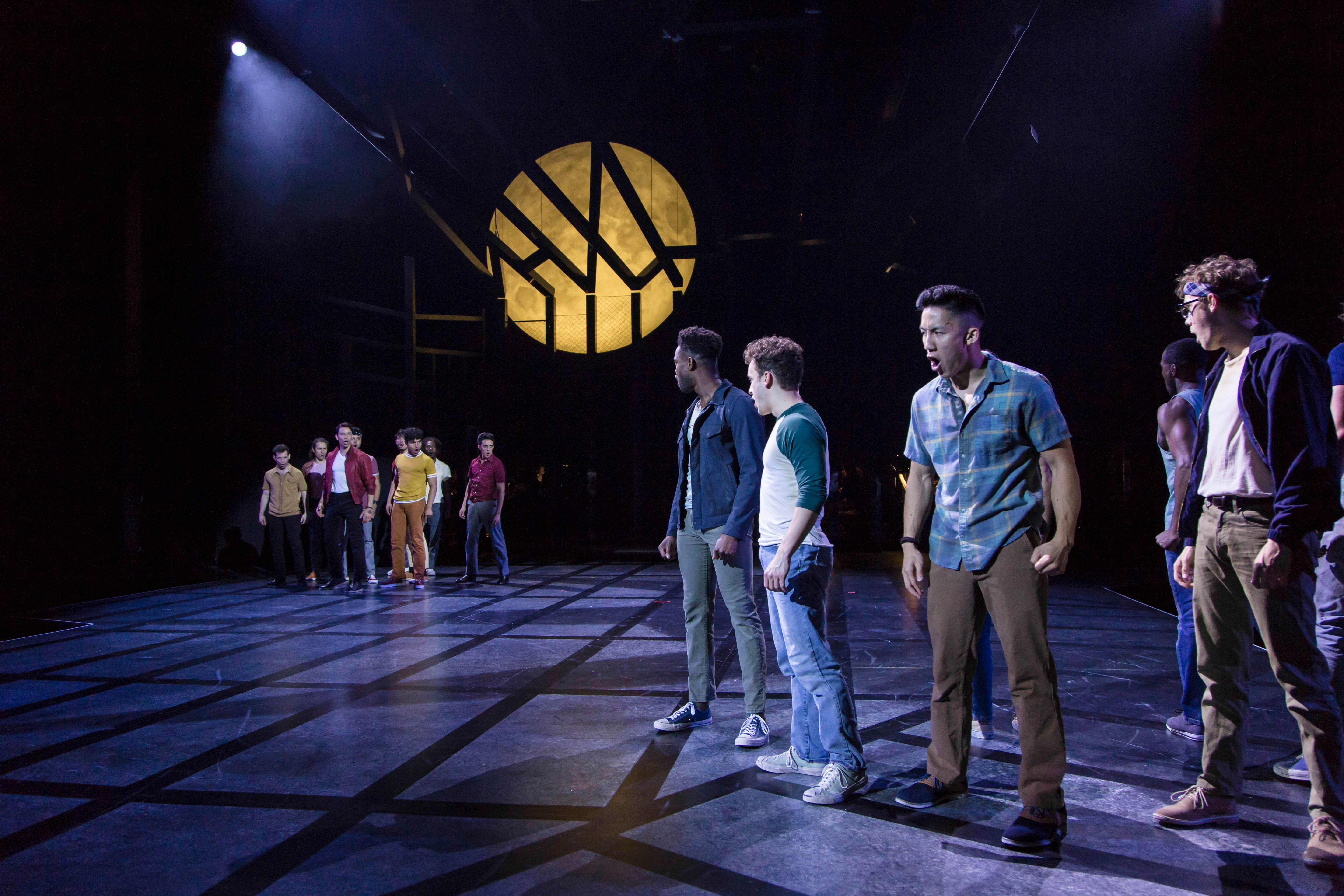The cast of the Guthrie Theater's production of West Side Story. Photo by T  Charles Erickson.